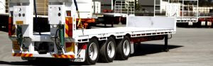 Tri Axle Flat Tops for rental