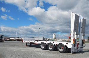 HAULMORE THREE X FOUR DROP DECK WIDENING SEMI TRAILER