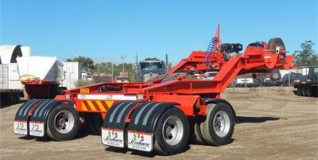 2017 Low Loader Dolly – Two rows of Eight