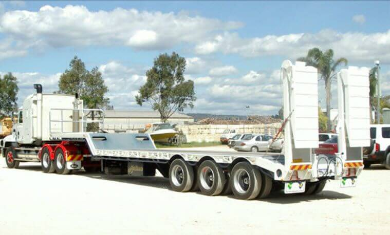 LOW LOADER TRAILERS FOR RENTAL