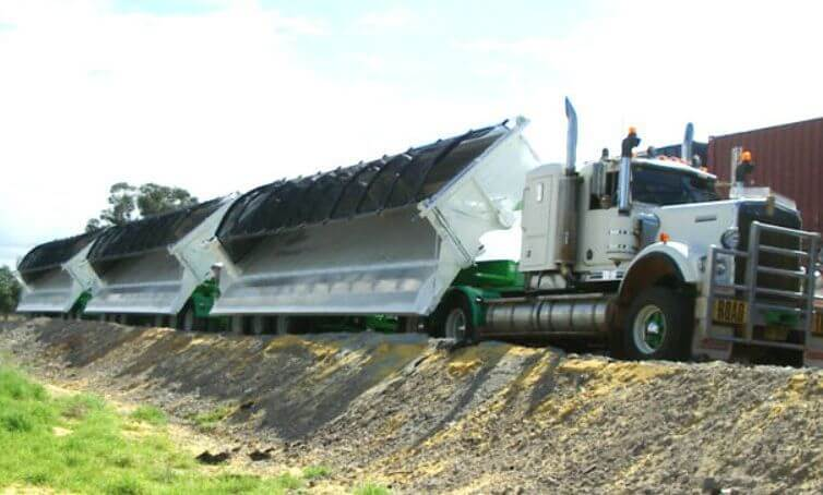 SIDE TIPPERS FOR RENTAL
