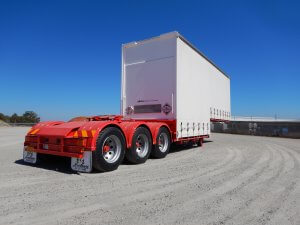 Curtain-Side Combination Trailers